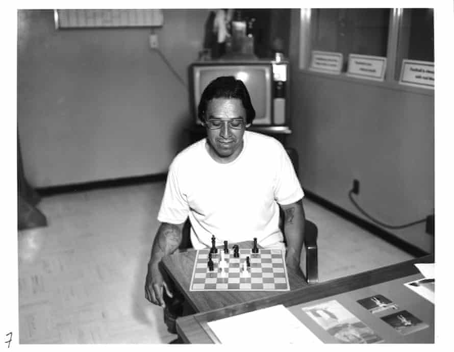 Man Playing Chess from Mapping Archive Images, 2013