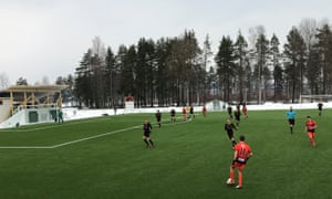 The Swedish fourth-tier club packed full of young English