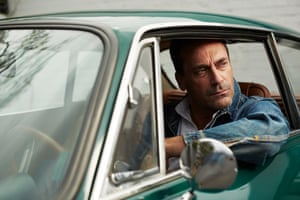Actor Jon Hamm photographed at Quixote Studios in West Hollywood