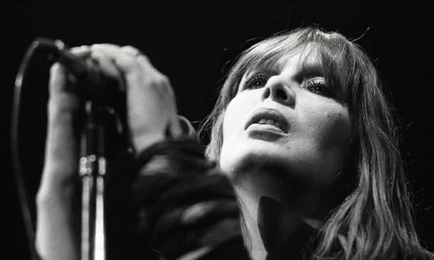 Nico performing live onstage in Rotterdam, the Netherlands, on 18 May 1984.