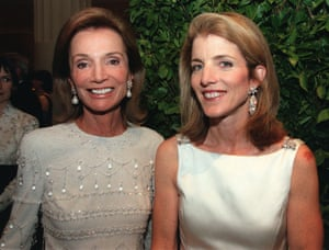 Caroline Kennedy, right, poses with Lee Radziwill, sister of Jacqueline Kennedy, at New York's Metropolitan Museum of Art in 2001.