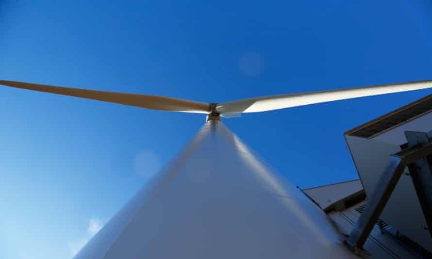 Things are looking up: wind and solar make up three-quarters of new energy capacity.