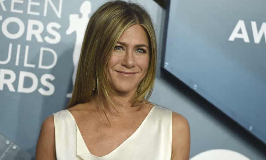 Jennifer Aniston at the Screen Actors Guild awards in January.