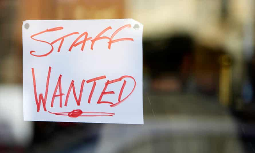 Restaurants, along with other parts of the services sector, are finding it tough to fill vacancies.