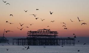 West Pier, Brighton.