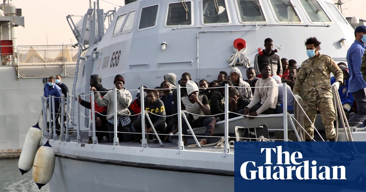 More than 100 lone children rescued trying to cross Mediterranean