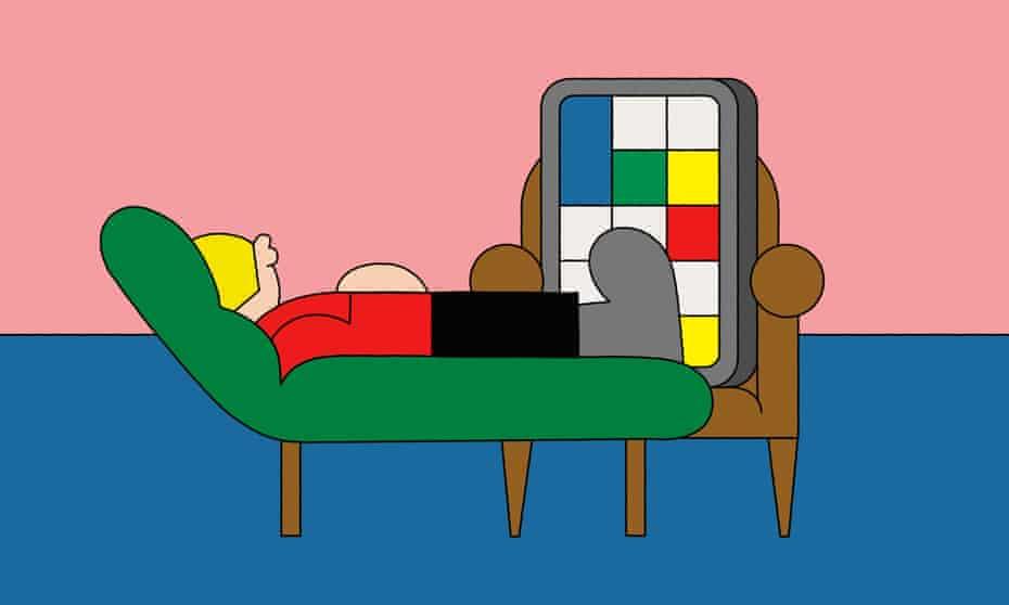 therapist smartphone