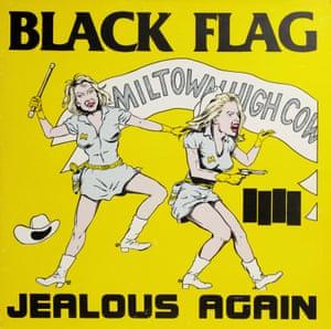 Raymond Pettibon, Jealous Again by Black Flag, 1982