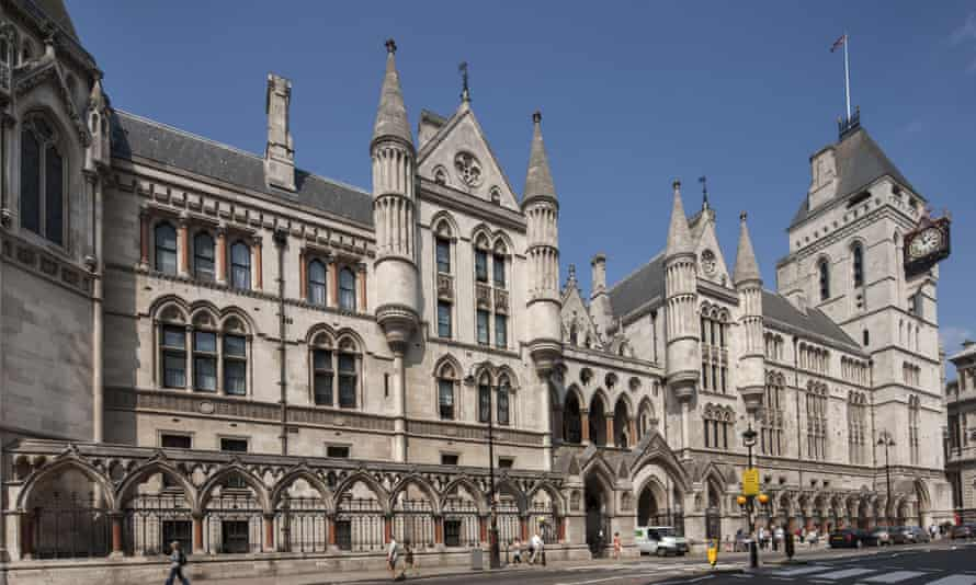 The case at the high court in London is said to be be the first against the church in the UK
