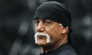 Terry Bollea, AKA Hulk Hogan, during his court case against Gawker Media