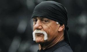 Hulk Hogan (AKA Terry Bollea) arrives in court for his trial against Gawker Media.