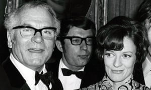 Maggie Smith and Laurence Olivier in 1970