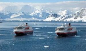 Hurtigruten vessels