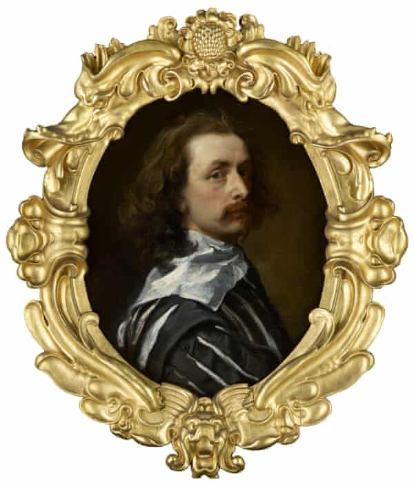 Anthony van Dyck's Self-Portrait (c.1640) from I Am Van Dyck at Dulwich Picture Gallery, London.