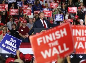 Trump holds Maga rally