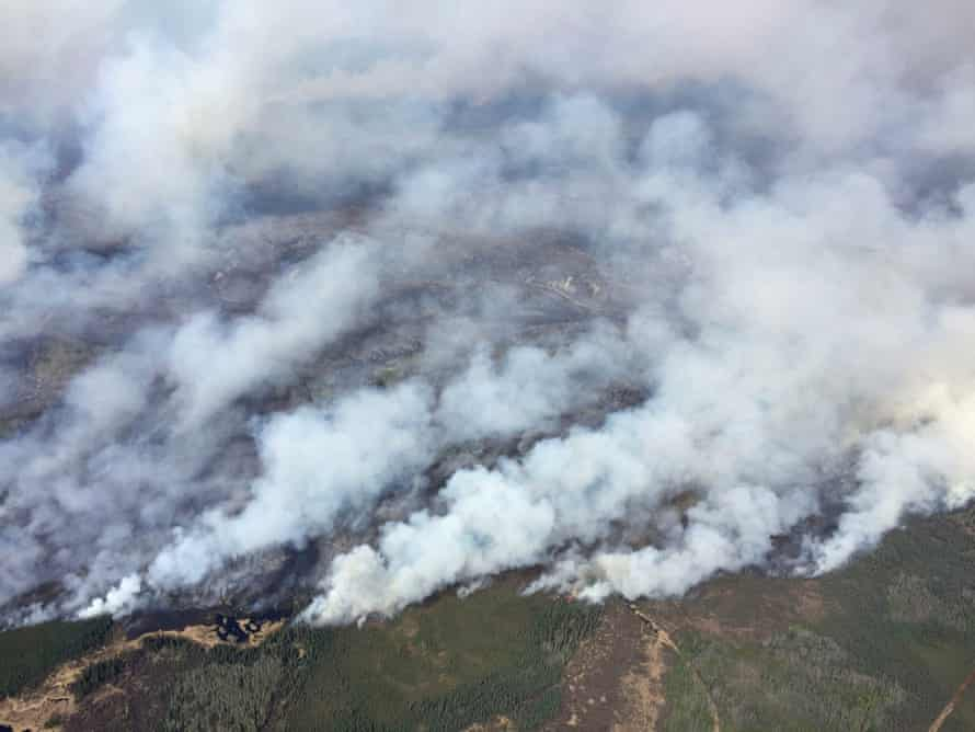 Raging wildfires have caused the evacuation of Fort McMurray's 80,000 residents in Alberta, Canada