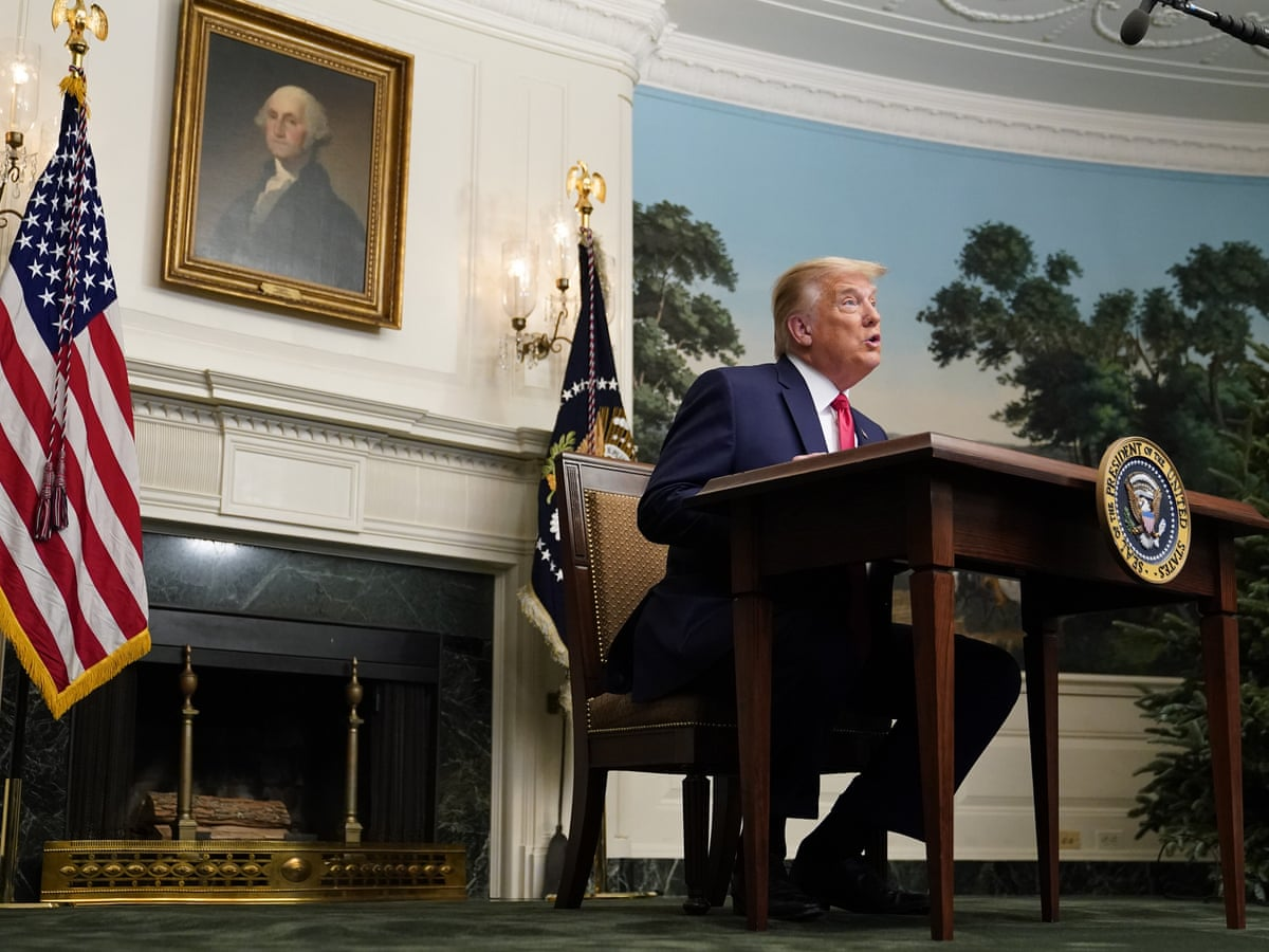 Trump S Furniture Fail That S Not A Desk Donald It S A Table For Tv Dinners Design The Guardian