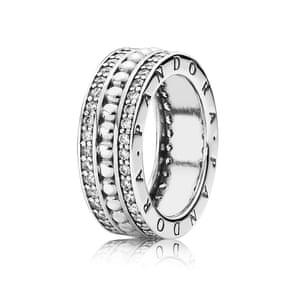 Ring, £115, by Pandora.