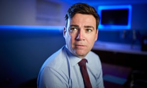 Andy Burnham, mayor of Greater Manchester.