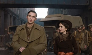 'I've ended up playing the woman who inspired the elven princess': Nicholas Hoult and Lily Collins in Tolkein