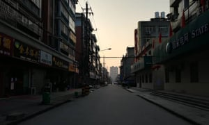 A photo of an empty street