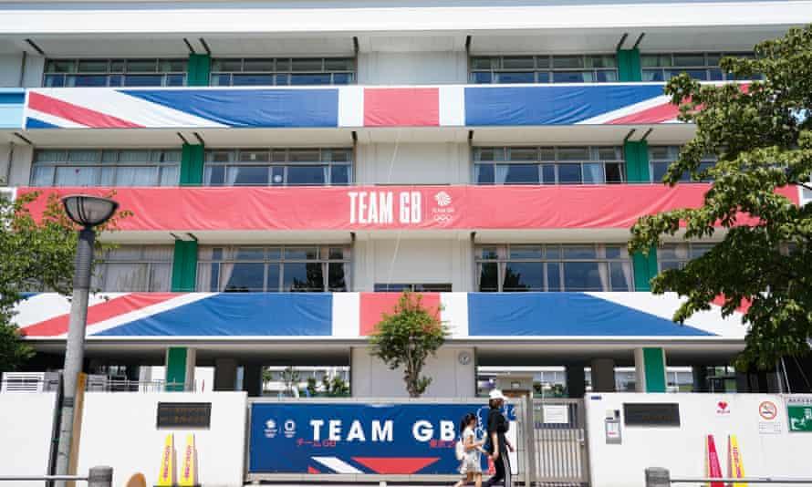 Team GB's perfomance lodge