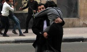 Image of Shaimaa al-Sabbagh's last moments.