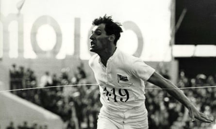 Ben Cross in Chariots of Fire, 1981, directed by Hugh Hudson.