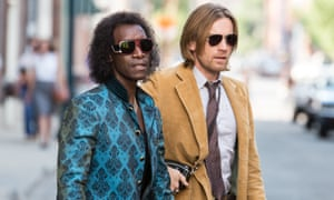 Don Cheadle and Ewan McGregor in Miles Ahead.