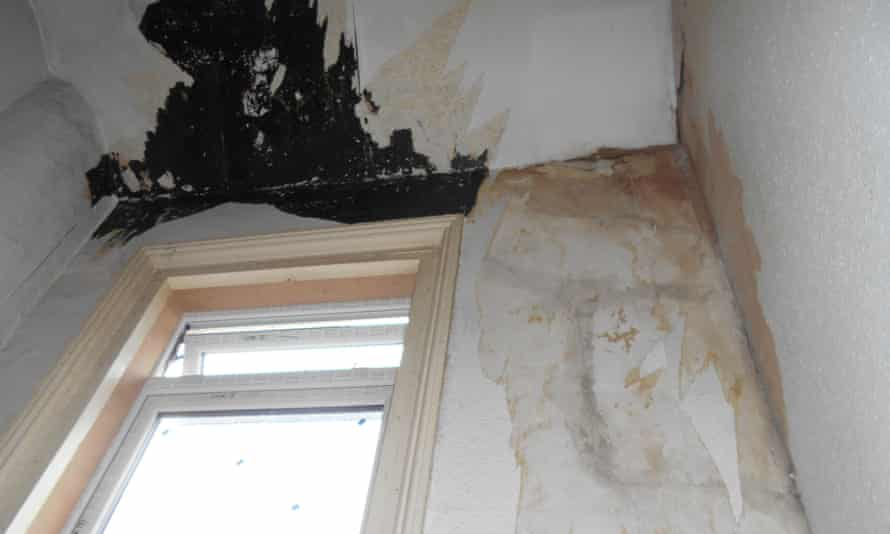 The state of a property discovered during the landlord investigation by the Guardian and ITV News.
