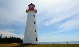 Point Prim Lighthouse, 1845, the oldest lighthouse on Prince Edward Island