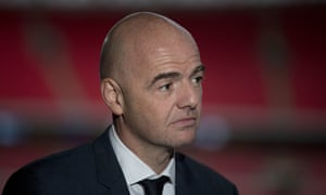 Gianni Infantino was supported by the likes of Fabio Capello and José Mourinho as he unveiled his plans for Fifa at Wembley.