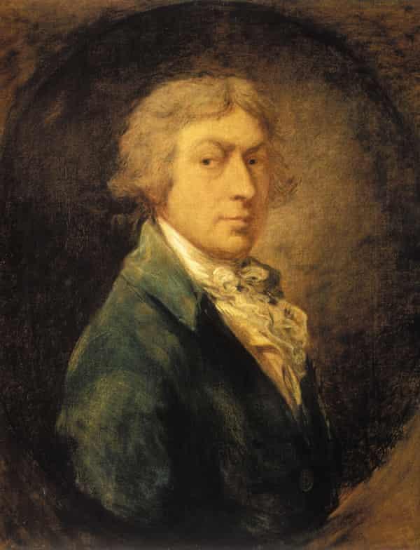 Self-portrait of Thomas Gainsborough, 1787