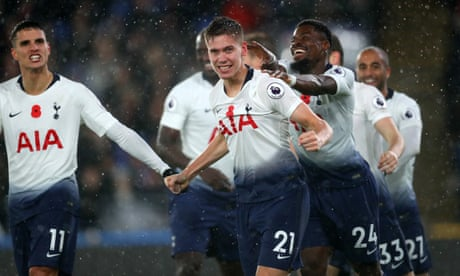 Juan Foyth scores first career goal to give Tottenham win at Crystal Palace