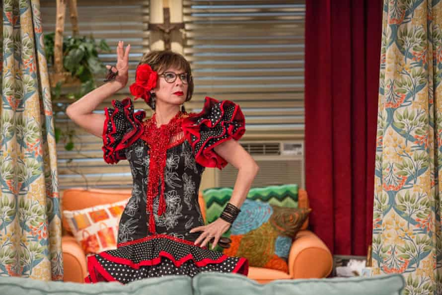 Rita Moreno, likely the only Emmy, Grammy, Oscar and Tony winner to ever star in a sitcom.