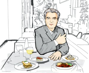 Lunch with David Byrne