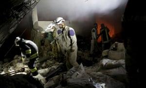 Air strikes al Qaida in Syria