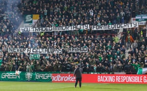 Celtic fans offer a view on Brendan Rodgers.