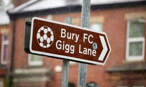 Bury face expulsion after 125 years of league membership.