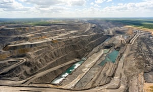 Moranbah's Peak Downs open-cut coalmine.