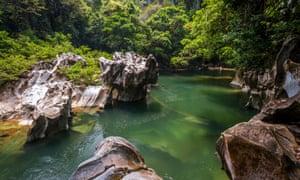 Rio Claro reserve.