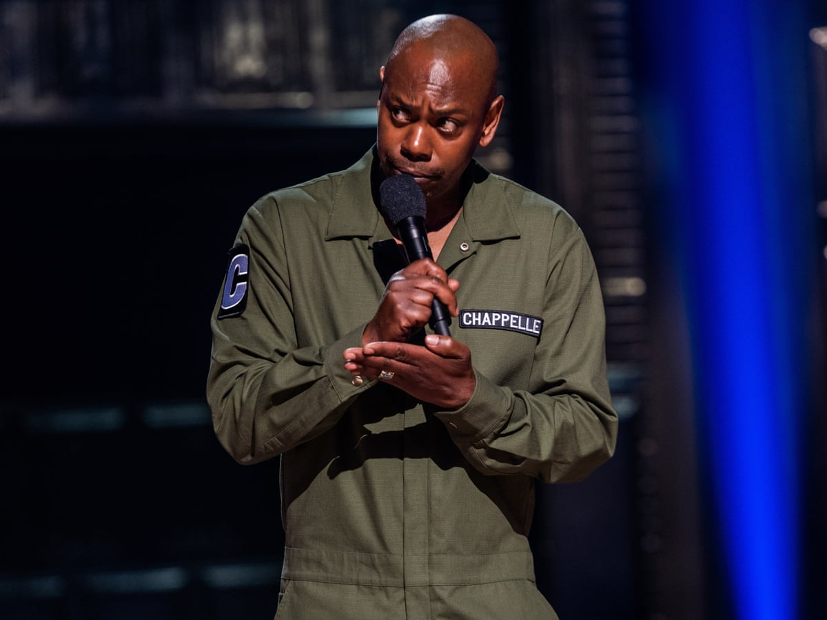 shock and bore how dave chappelle lost his comic touch dave chappelle the guardian how dave chappelle lost his comic touch