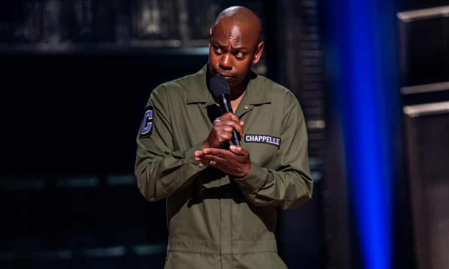 Dave Chappelle in Sticks and Stones.