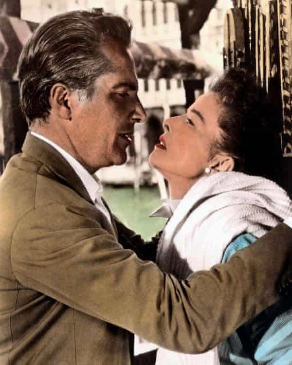 Rossano Brazzi and Katharine Hepburn in Summer Madness.