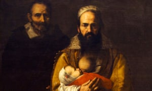 Magdalena Ventura with Her Husband and Son, by Jusepe de Ribera, 1631.