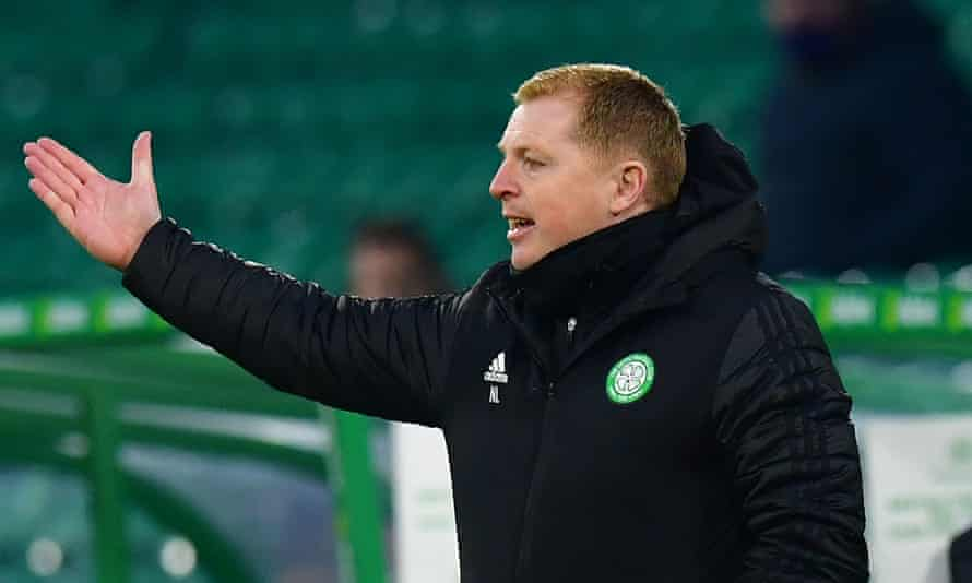 The Celtic manager Neil Lennon