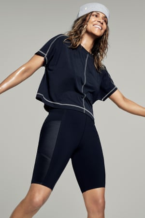 Act two Hollywood A-lister Halle Berry has taken her long-time love of health and wellness to the next level with the debut of her first fitness clothing line with Sweaty Betty. The 22-piece collection of highly technical styles draws inspiration from her boxing and Japanese jiu-jitsu training. The easy silhouettes, fabrication and curve-friendly cuts are designed to be worn for a range of workouts. Prices from £55, sweatybetty.com