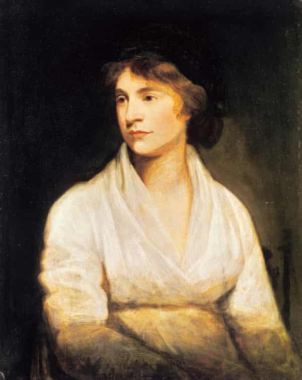 Mary Wollstonecraft by John Opie, circa 1797.