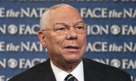 """Colin Powell<br>In this Aug. 21, 2013, photo provided by CBS News, former Secretary of State Colin Powell speaks on CBS's """"Face the Nation"""" during a pre-taped interview in Washington. The first black chairman of the Joint Chiefs of Staff and first black secretary of state, Powell says America has come a long way toward racial equality 50 years after Martin Luther King Jr.'s """"I Have a Dream"""" speech. (AP Photo/CBS News, Mary F. Calvert)"""
