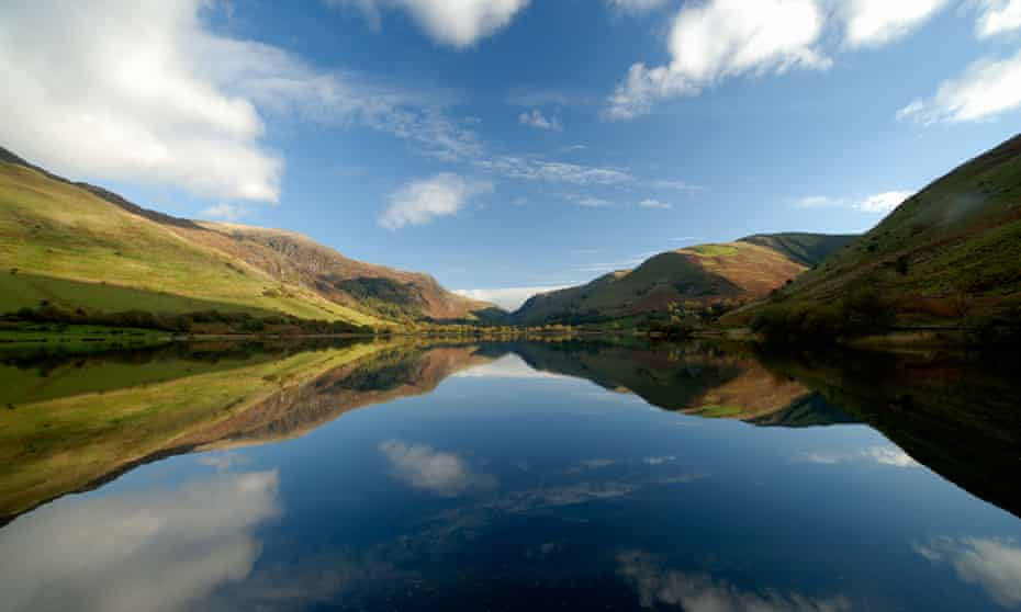 Tal-y-llyn lake in Snowdonia … rural isolation is a theme in Water Shall Refuse Them.